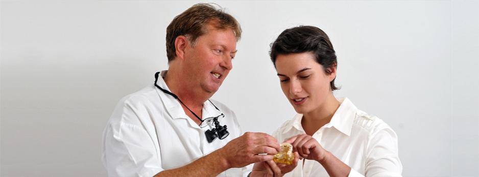 Laserbehandlung im Rahmen der bioÄsthetischen Zahnmedizin