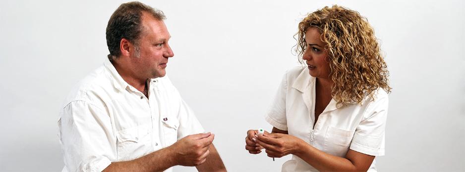 Schnarcherschiene und Therapieberatung